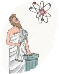 Древние Греки догадывались о существовании молекул